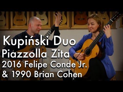 Kupiński Duo - Piazzolla Zita (Felipe Conde Jr. & Brian Cohen)