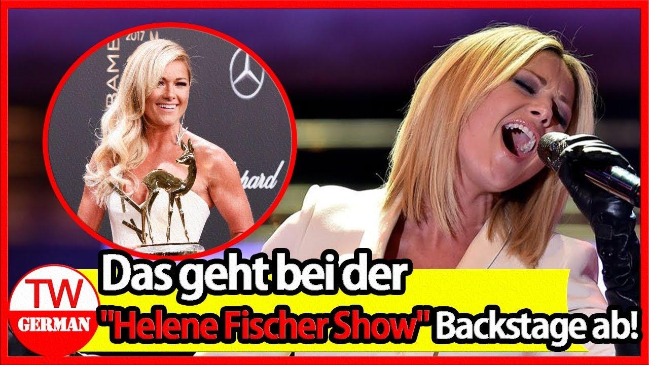 SHOCK   Das geht bei der Helene Fischer Show Backstage