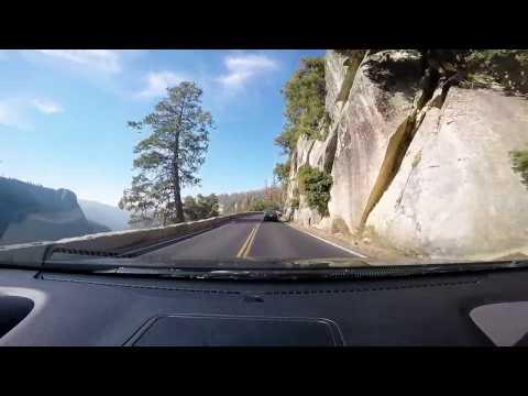 Driving Tioga Pass Yosemite  to Mono Lake