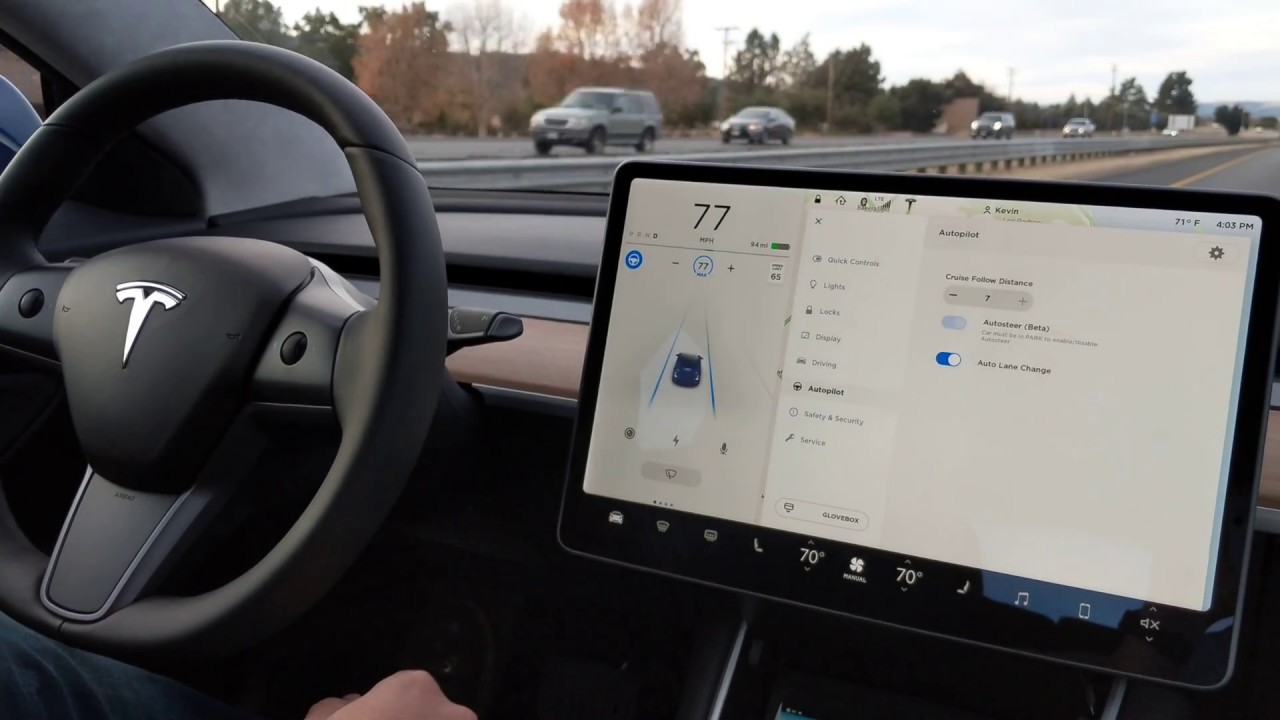 Tesla Moves Autopilot Controls to Steering Wheel for Model 3