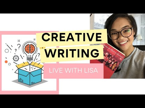 Crush your Creative Writing! | Live QnA with Lisa Tran