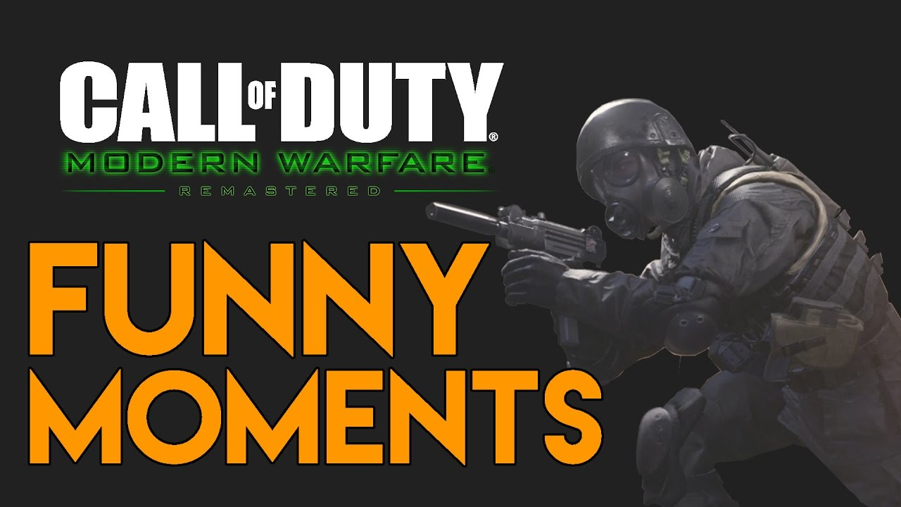 Modern Warfare Remastered Funny Moments - Hide & Seek (MWR Funny Moments)