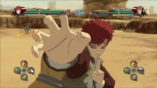 Gaara - All Jutsu & Awakening | Naruto Shippūden: Ultimate Ninja Storm Revolution [PC]