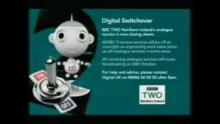 Brougher Mountain BBC Two NI Analogue Switch Off 10th October 2012
