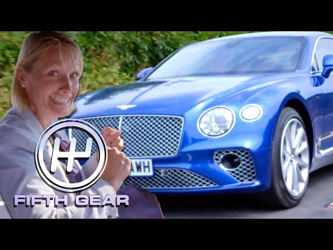 Vicki Reviews The Bentley Continental GT | Fifth Gear