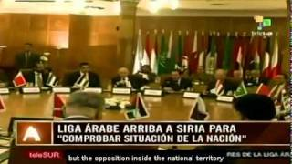 Video First Arab League observers arrived in Syr download MP3, 3GP, MP4, WEBM, AVI, FLV Maret 2018