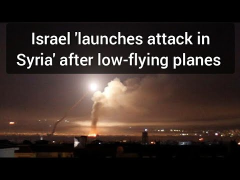 Israel 'launches Attack In Syria' After Low-flying Planes Terrify Beirut Residents