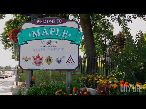Maple Vaughan Ontario Neighbourhood