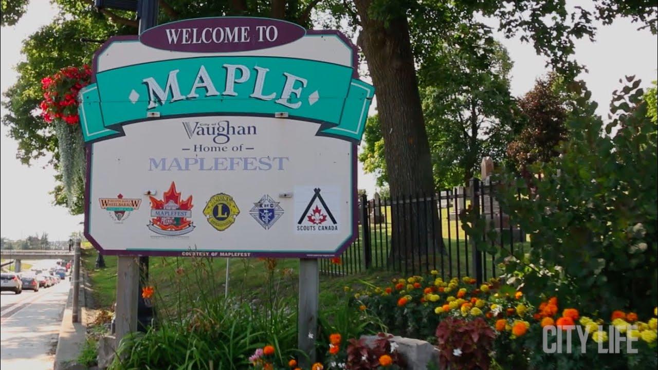 Maple Vaughan Ontario Neighbourhood - YouTube