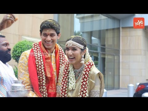 T Subbarami Reddy's Grandson Anirudh Wedding Pics | TSR's Grandson Marriage Photos | YOYO TV