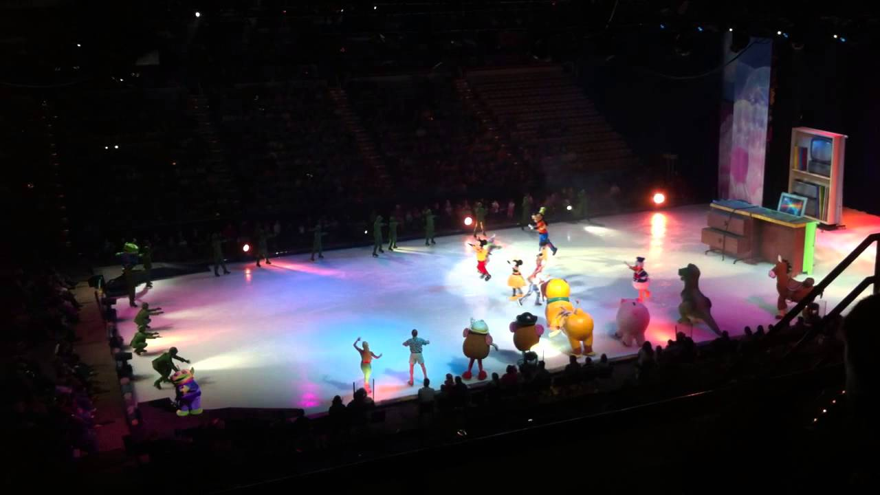 Disney On Ice, 03-22-13, Cajundome, Toy Story Section