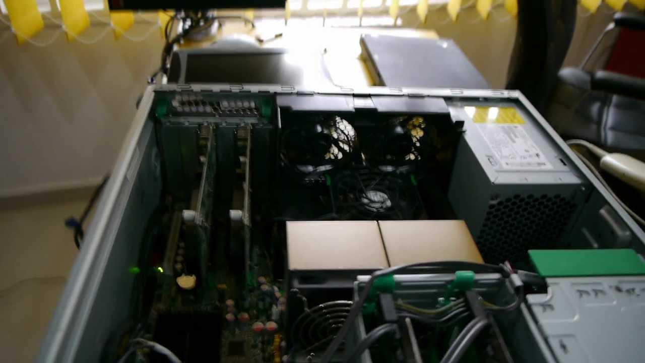 HP xw6600 Workstation Inside - YouTube b7cc8cce1fdf