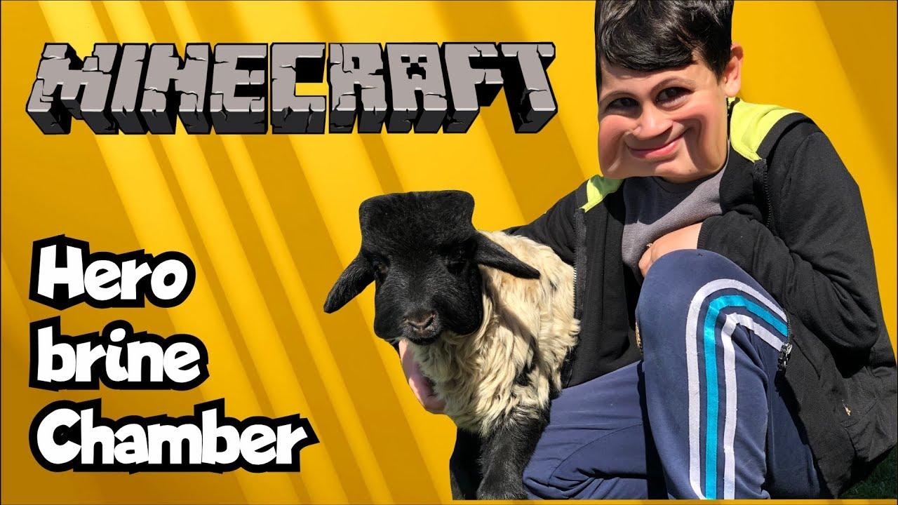 Eğlenceli bir Minecraft evi Oyunu - HEROBRINE CHAMBER