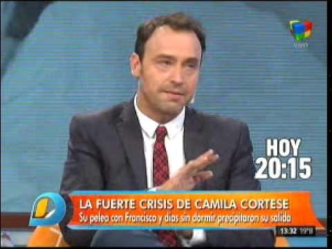La fuerte crisis de Camila Cortese antes de irse de la casa