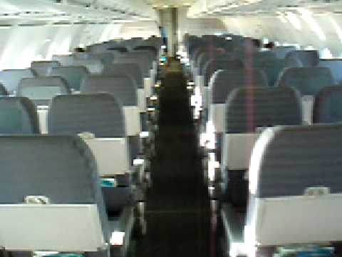 Empty Plane: My own private charter