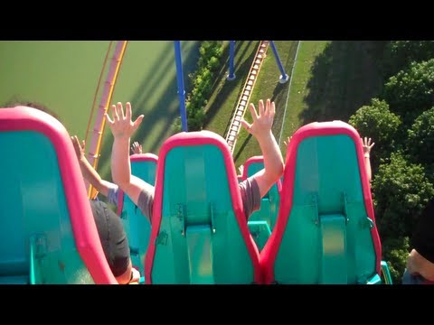 Canada's Wonderland Behemoth First-Person View (124 km/h)