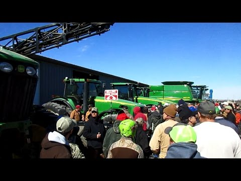 Highlights from Ray Brunker Farm Estate Auction Today in Olathe, Kansas