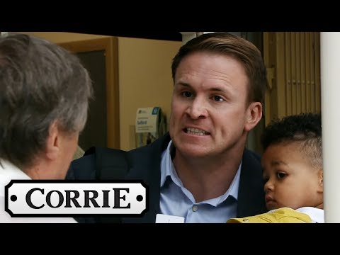 Coronation Street - Jude Tries to Run Away With Baby George