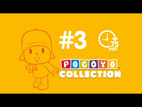 Pocoyo - more than one hour of cartoons for kids   complete episodes PART 3