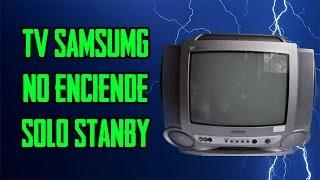 Tv Samsung no enciende //  Samsung TV does not turn on