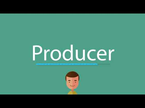 How to say Producer