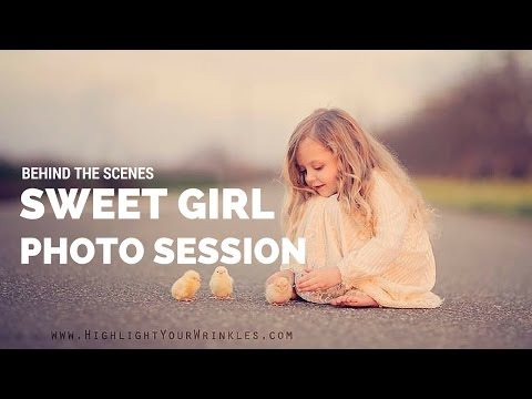 Creative Portrait Photo session Behind the Scenes Canon 5D Mark III