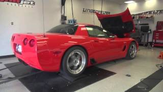 2002 lingenfelter z06 with a c5r 427