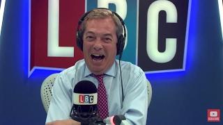 The Nigel Farage Show: Diane Abbott - May & Juncker. Live LBC - 2nd May 2017