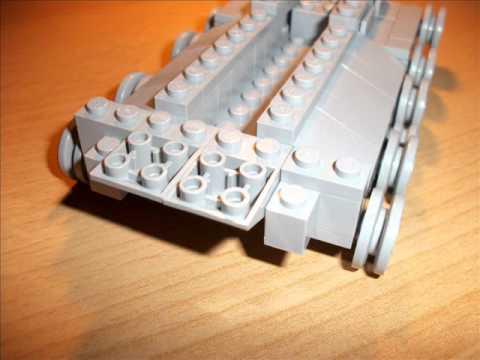 Lego Wwii Panzertank Bauanleitunginstruction Youtube