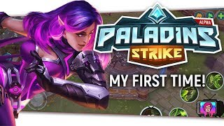 "📱 ""Paladins Strike"" 