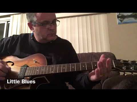 A Little Blues with the Digitech Trio and Godin Kingpin