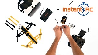 Load Video 2:  Rise Vusion FPV Drone Racer Assembly: Instant RC