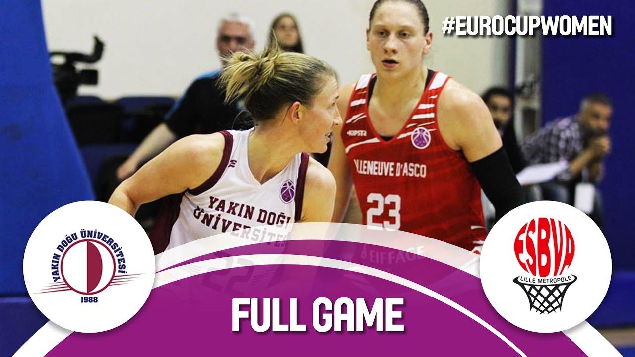 Quarter-Finals: Yakin Dogu Universitesi (TUR) v ESBVA-LM (FRA)