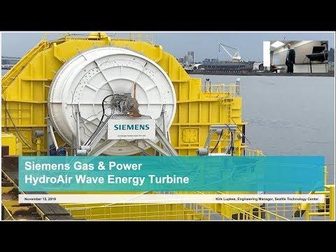 HydroAir Wave Energy Turbine | UW Marine Renewable Energy Seminar