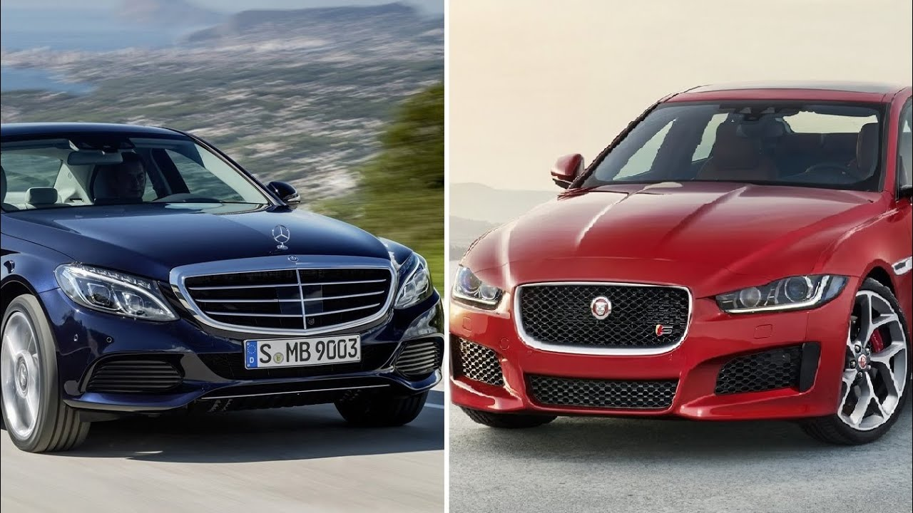 2016 Jaguar Xe Vs Mercedes C Class Visual Comparison