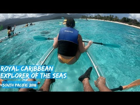 Royal Caribbean- Explorer of the Seas 2018 - South Pacific