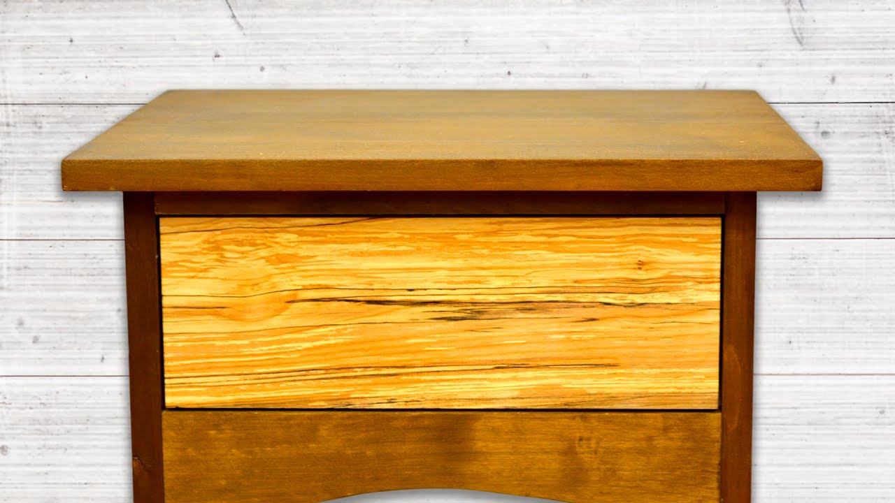 Making Drawers For The Bedside Tables | Woodworking Project