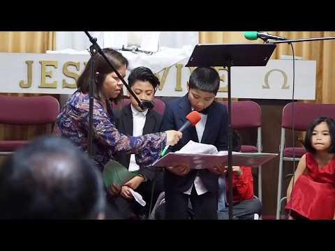 2017 August, Washington Indonesian SDA Church - Children Ministry