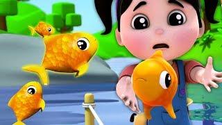 aku menangkap ikan hidup-hidup | lagu ikan | menghitung angka | I Caught A Fish Alive | Kids Songs