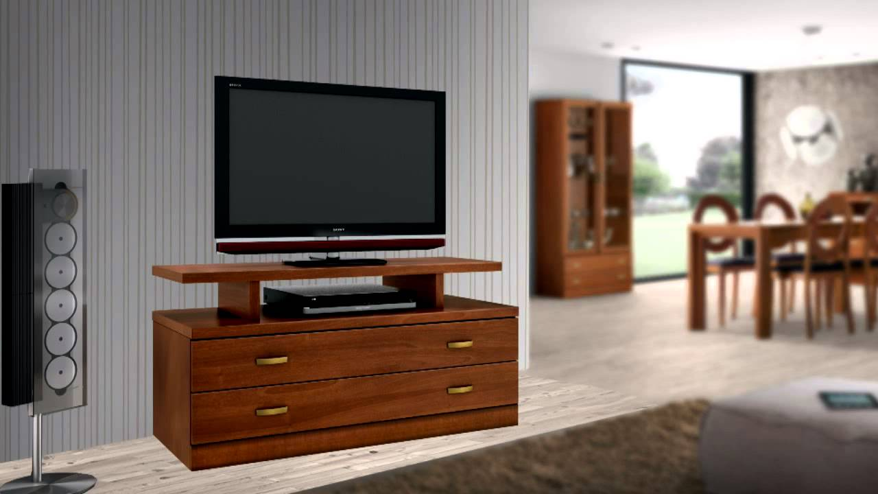 Muebles Tv Muebles Televisin Madera Salones Modernos Pino With  # Muebles Metinca