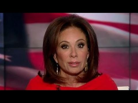 Judge Jeanine: I, for one, am appalled, Hillary