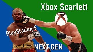 Next Gen Konsolenkrieg: Xbox Scarlett wird PlayStation 5 besiegen (Xbox Scarlett vs PS5)