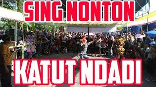 Penonton Ndadi Jathilan Kreasi Baru Eko Turonggo Mudo