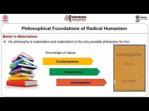 M N Roy and Radical Humanism