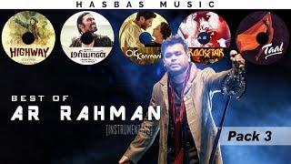 Best of AR RAHMAN [Instrumental] - PACK 3   HasBasMusic