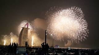 FIREWORKS, New year 2015#Burj Al arab#Dubai#012