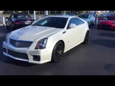 2014 Cadillac Cts V Coupe 6 Speed Manual 3900 Miles 941 915 7637