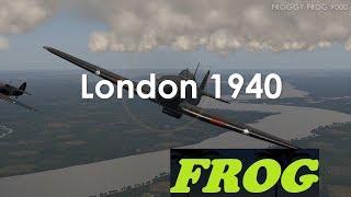 Hawker Hurricane Vs Dornier Do17 London 1940 (IL-2 Sturmovik Cliffs of Dover Blitz) 2160p 4k