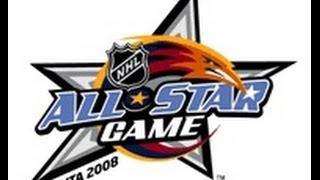 NHL 08 - 2008 NHL All-Star Game (CPU vs. CPU) Superstar Difficulty - PS3