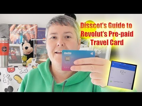 Bitesize Guide to Pre paid Travel Credit Card Revolut and App.